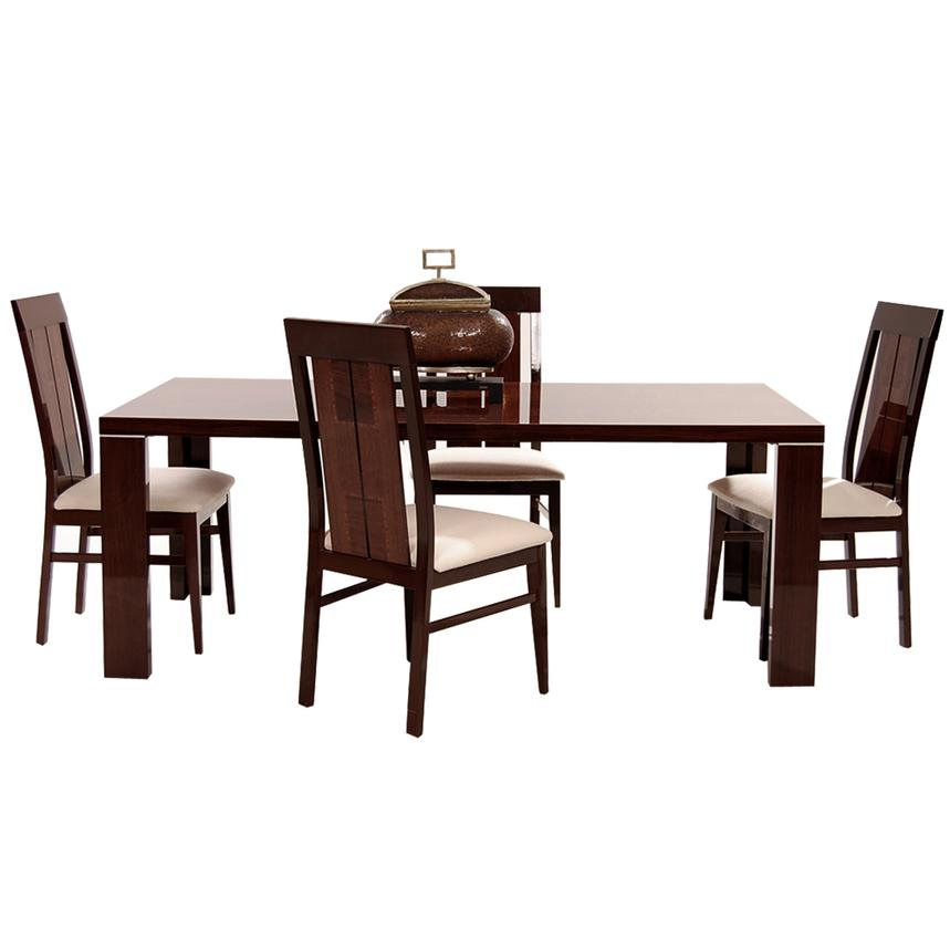 Pisa 5-Piece Formal Dining Set Made in Italy  alternate image, 3 of 13 images.