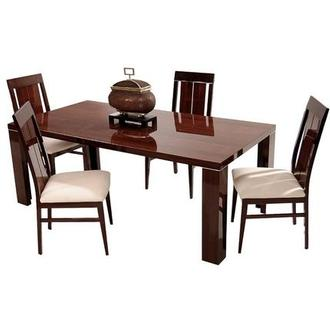 Pisa 5-Piece Formal Dining Set Made in Italy