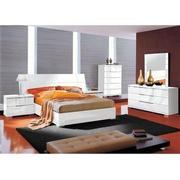 Asti Queen Platform Bed Made in Italy  alternate image, 2 of 6 images.