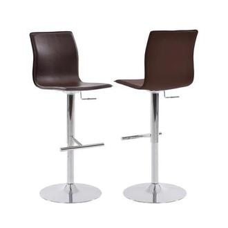 Evolution Brown Adjustable Stool
