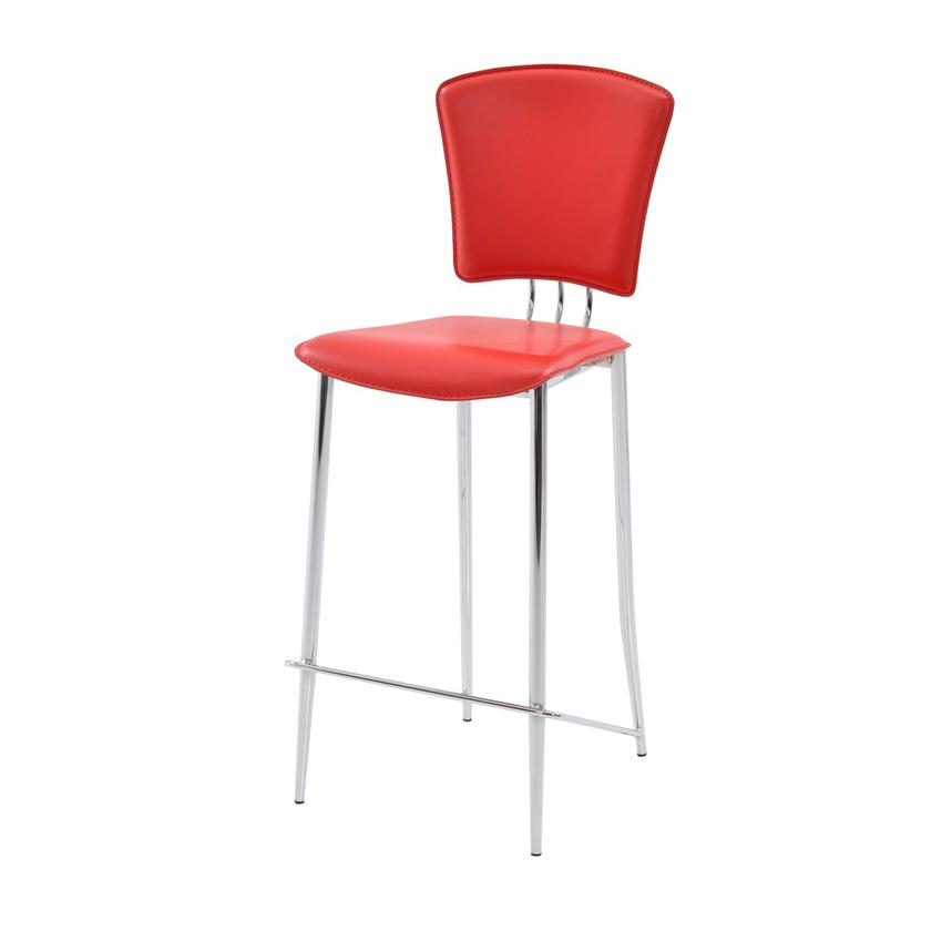 New Tracy Red Counter Stool  alternate image, 3 of 6 images.