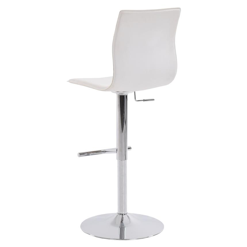 Evolution White Adjustable Stool  alternate image, 3 of 6 images.