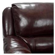 Theodore Brown Power Motion Leather Sofa w/Left Chaise  alternate image, 5 of 9 images.