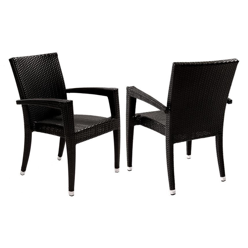 Neilina Black 7-Piece Patio Set  alternate image, 8 of 13 images.