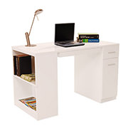 Bellmar White Desk  main image, 1 of 8 images.