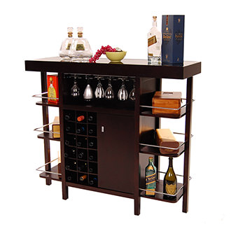 Philmore Dark Oak Bar