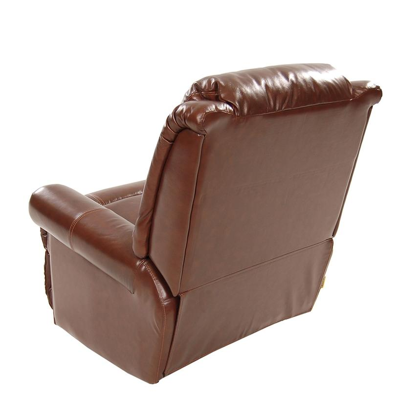 Mount Brown Power Motion Leather Recliner  alternate image, 4 of 8 images.