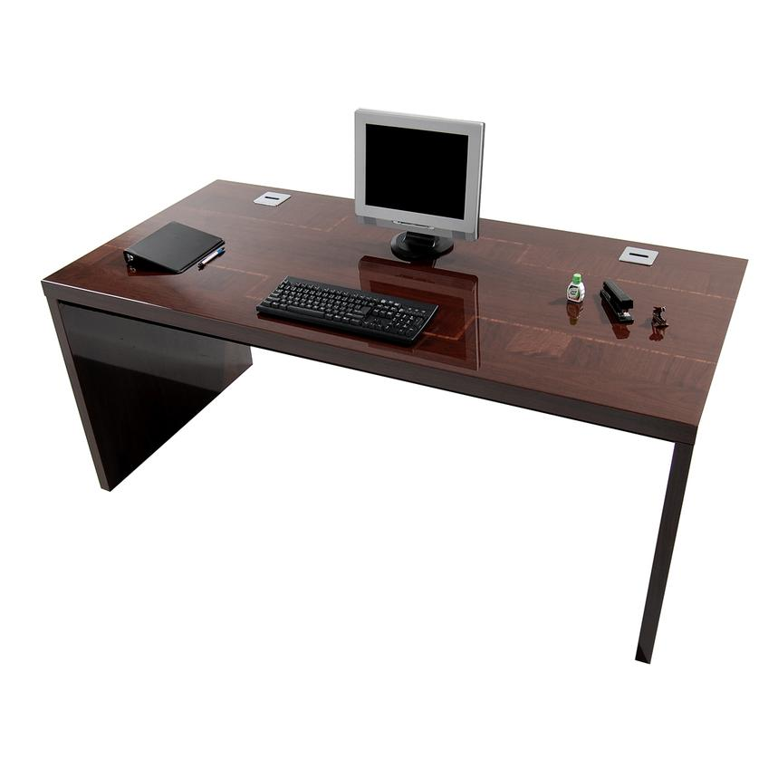 Pisa Executive Desk Made in Italy  alternate image, 4 of 6 images.