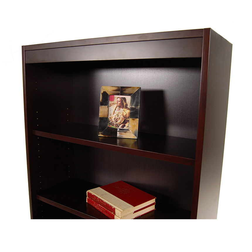 Bellmar Brown Bookcase  alternate image, 3 of 7 images.