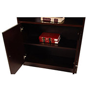 Bellmar Brown Bookcase  alternate image, 6 of 8 images.