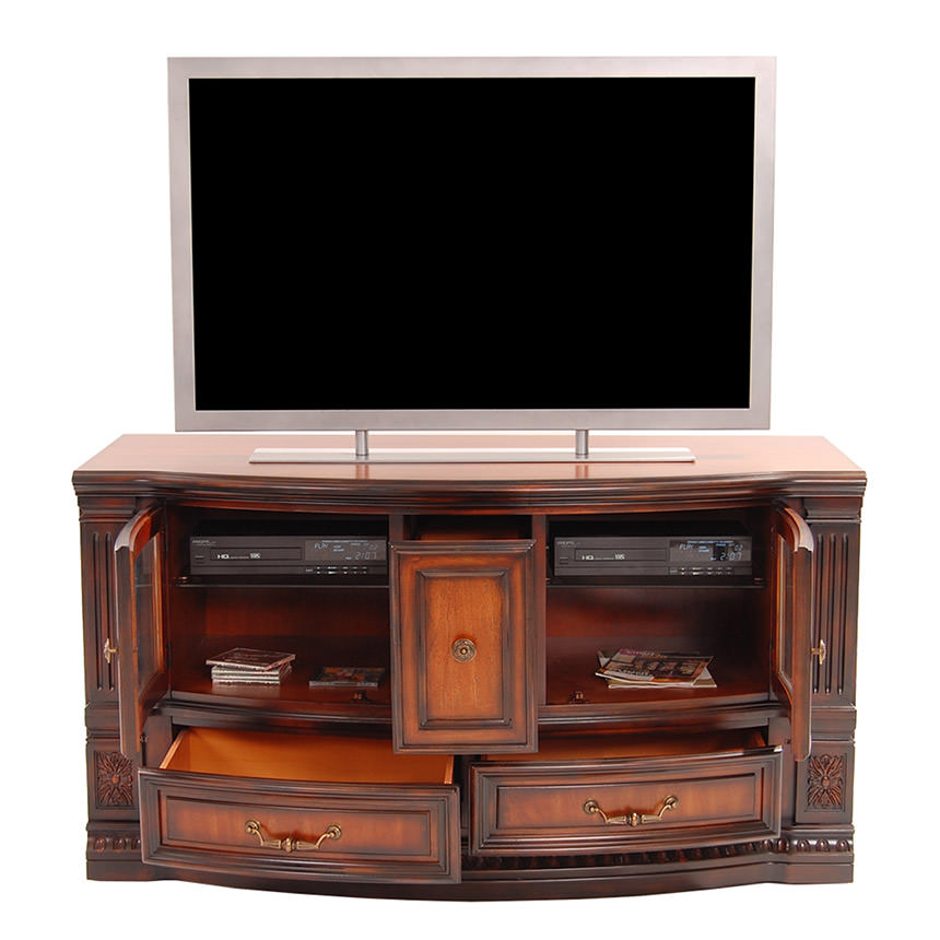 Grand Estate TV Stand   El Dorado Furniture