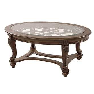 Norcastle Oval Coffee Table