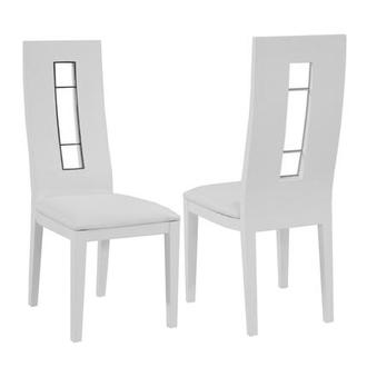 Novo White Side Chair