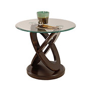 Firth Espresso Side Table  main image, 1 of 4 images.