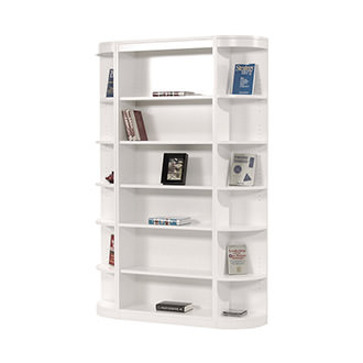 Bellmar White 3-Piece Bookcase
