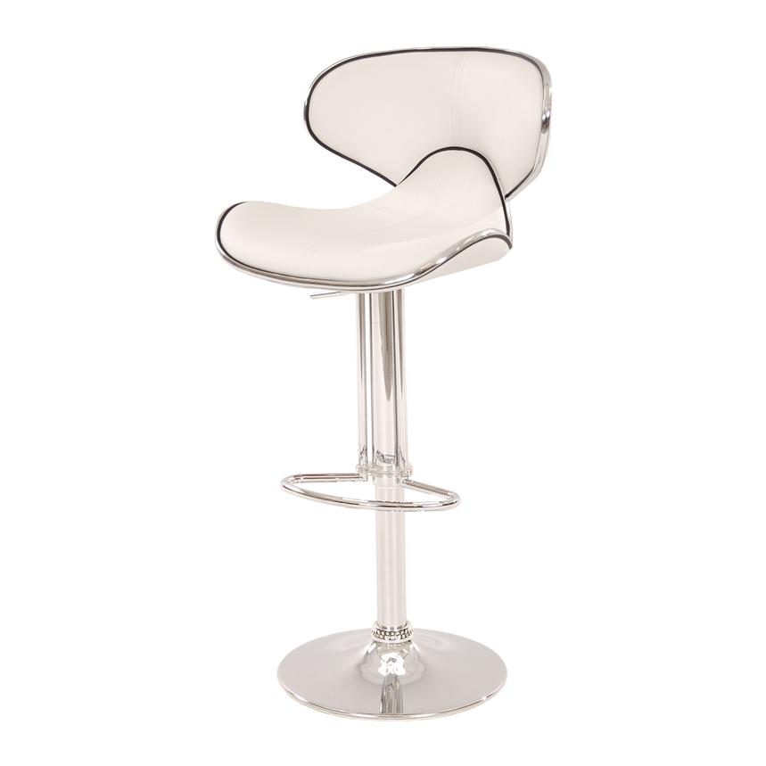 Clipper White Adjustable Stool  alternate image, 4 of 7 images.