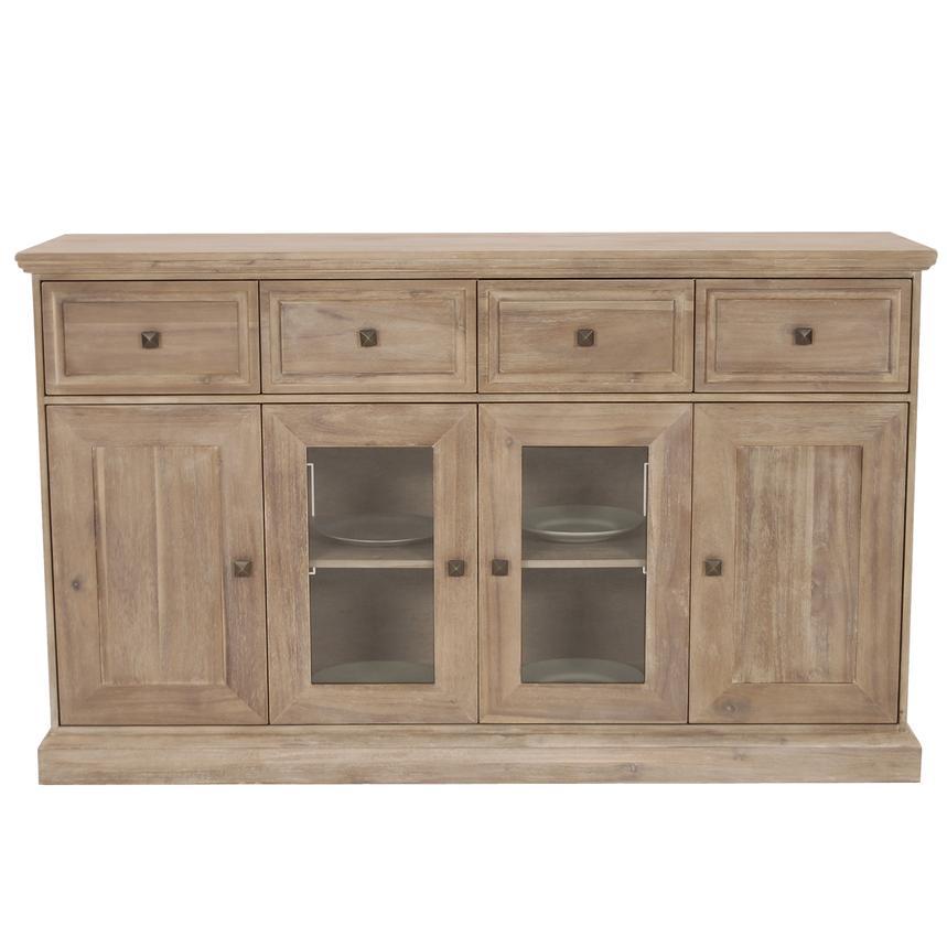 Hudson natural sideboard el dorado furniture for Sideboard 70 cm