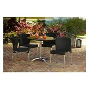 Gerald Black 3-Piece Patio Set  alternate image, 2 of 12 images.