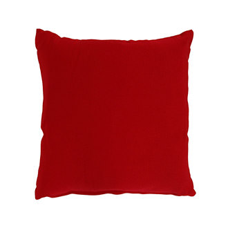 Red Outdoor Pillow