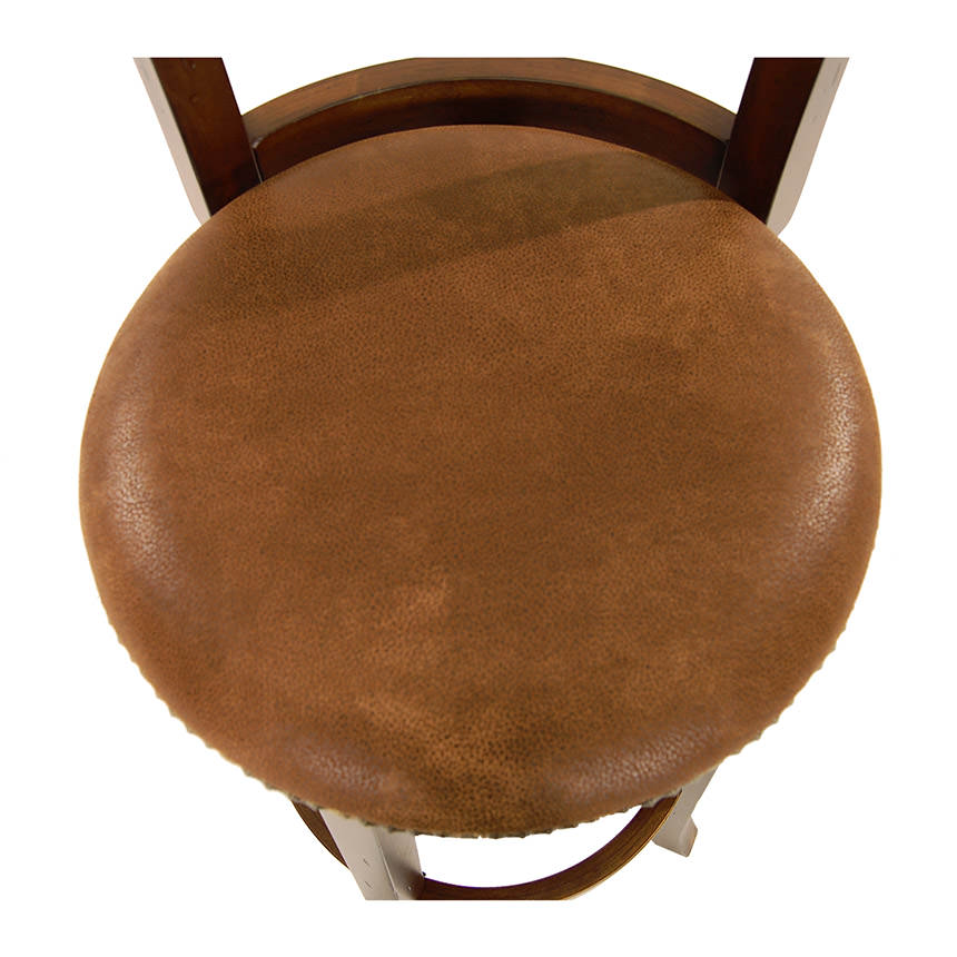 Santa Fe Swivel Bar Stool  alternate image, 4 of 6 images.