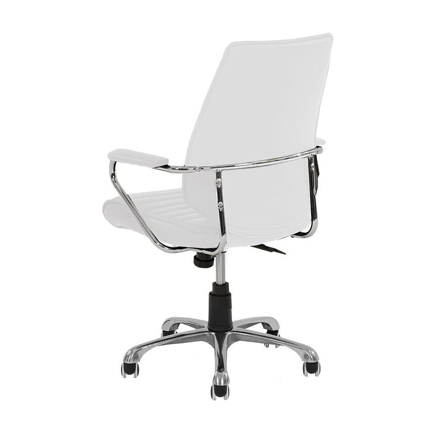 Enterprise White Desk Chair Alternate Image 3 Of 5 Images