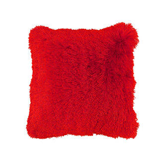Crys Red Accent Pillow