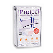 iProtect Full Mattress Protector  main image, 1 of 3 images.