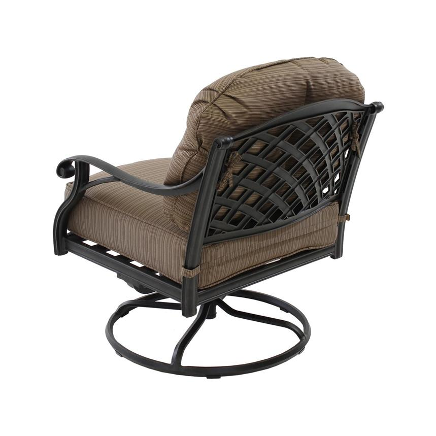 Castle Rock Brown Swivel Chair El Dorado Furniture