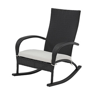 Neilina Black Rocking Chair