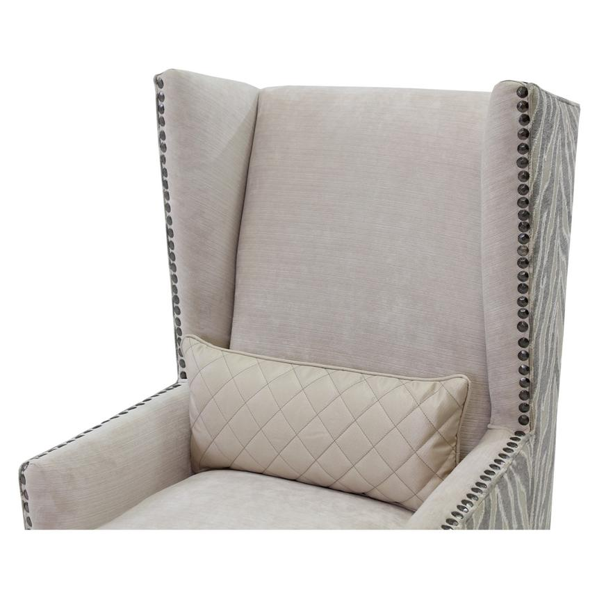 Laura Cream Accent Chair  alternate image, 3 of 6 images.