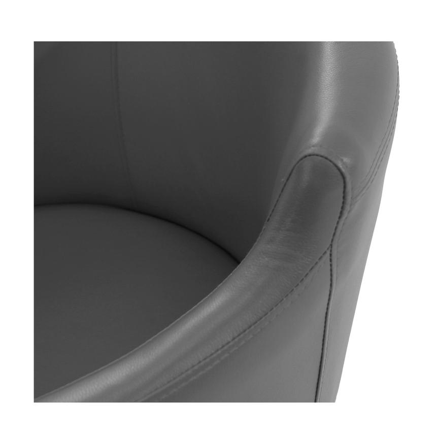 Dusty Gray Arm Chair  alternate image, 4 of 7 images.