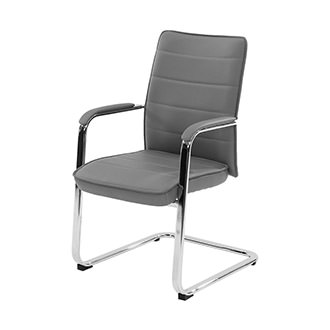 Conference Gray Guest Chair