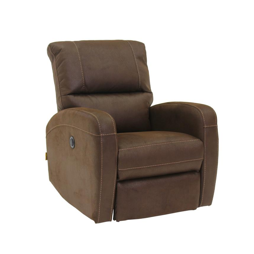 Keelogan Brown Power Motion Recliner  alternate image, 3 of 8 images.