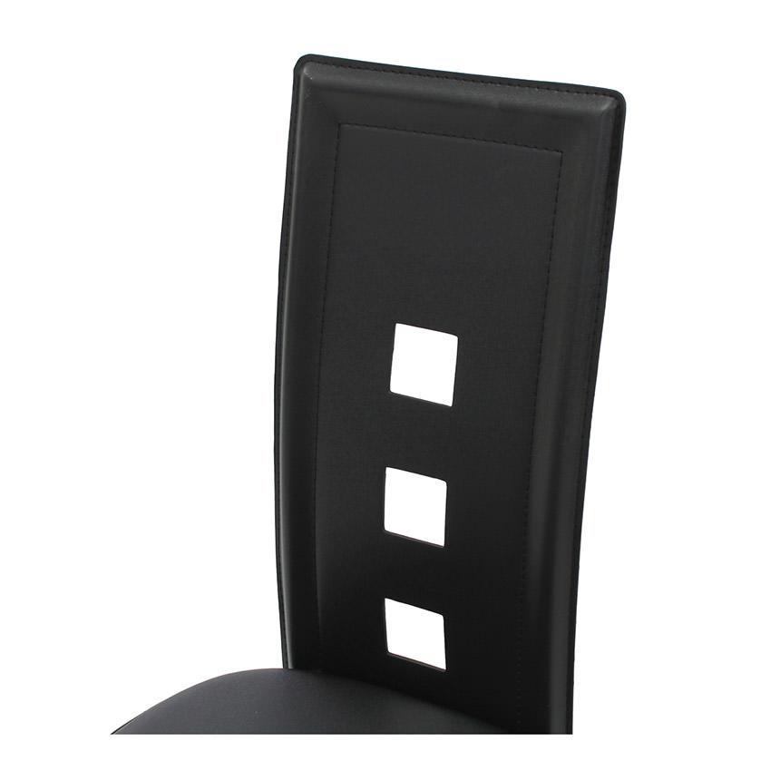 Dominoes Black Counter Stool El Dorado Furniture