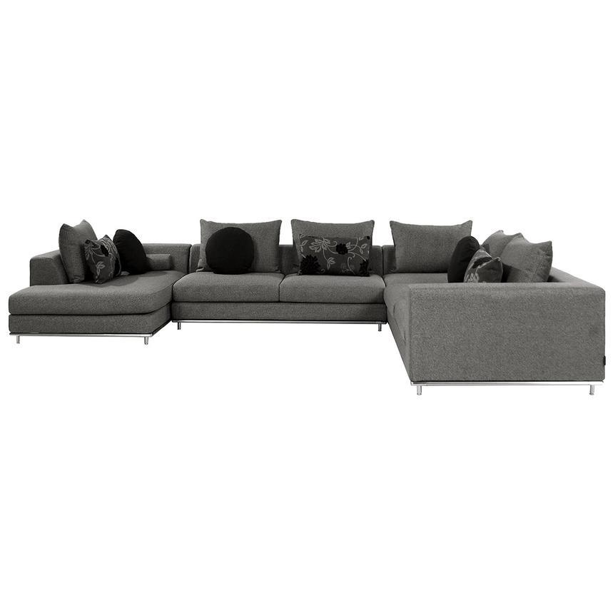 Henna Sofa W Left Chaise El Dorado Furniture