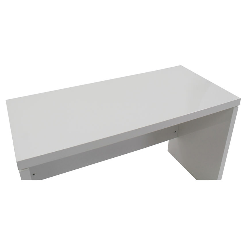 Sedona White L-Shaped Desk Made in Italy  alternate image, 4 of 6 images.