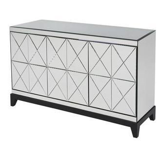Xavian Mirrored Cabinet