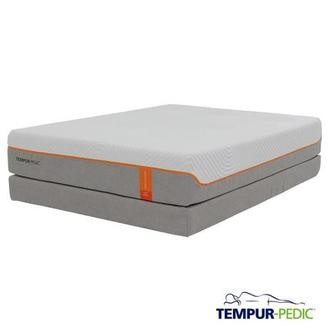 Contour Supreme Memory Foam Queen Mattress Set w/Low Foundation by Tempur-Pedic