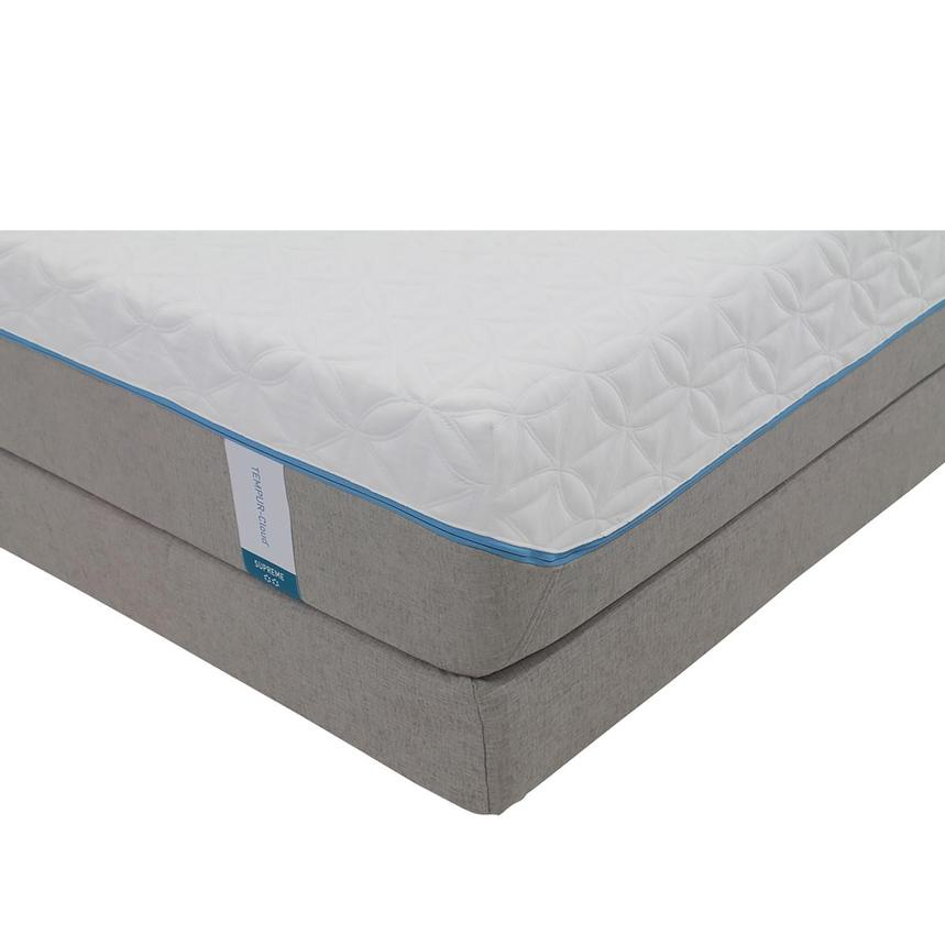 Cloud Supreme Memory Foam Queen Mattress Set w/Low Foundation by Tempur-Pedic  main image, 1 of 4 images.