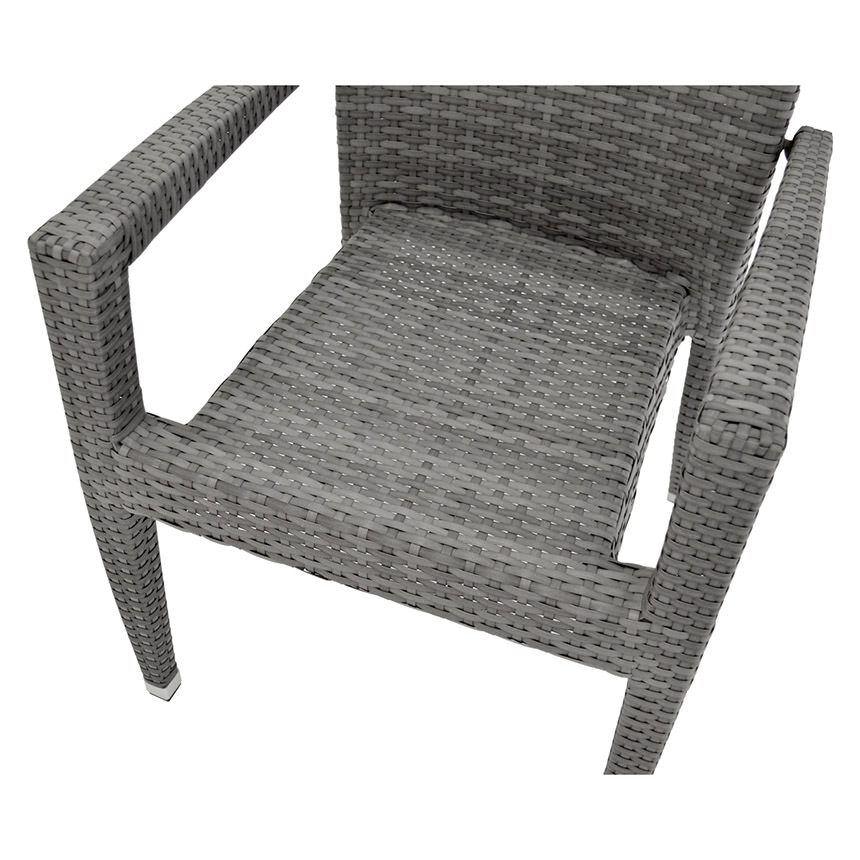Neilina Gray 7-Piece Patio Set  alternate image, 9 of 10 images.