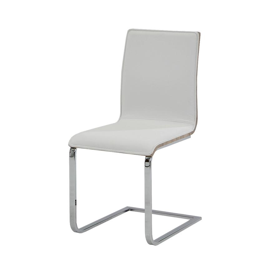 Solimar White Side Chair  alternate image, 3 of 7 images.