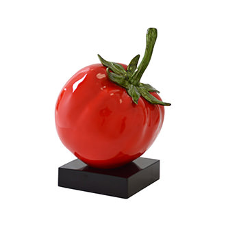 Red Tomato Sculpture