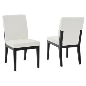 Suria White Side Chair