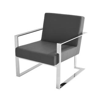 Motivo Gray Accent Chair
