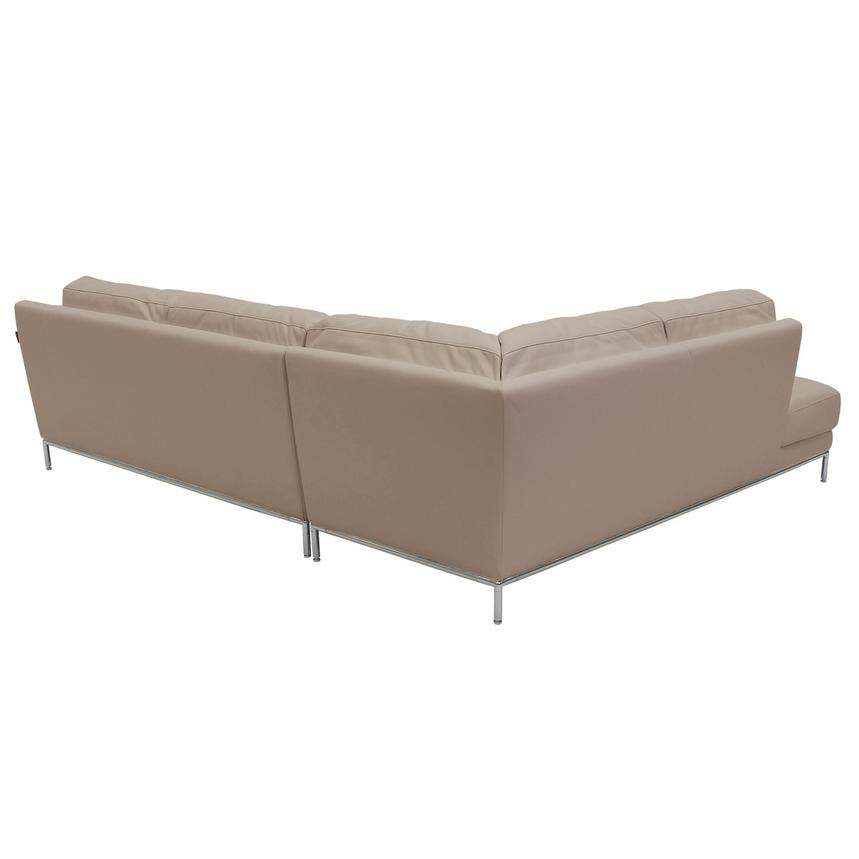 Cantrall Cream Sofa w/Left Chaise  alternate image, 3 of 7 images.