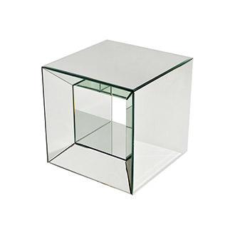Oleta Mirrored Side Table