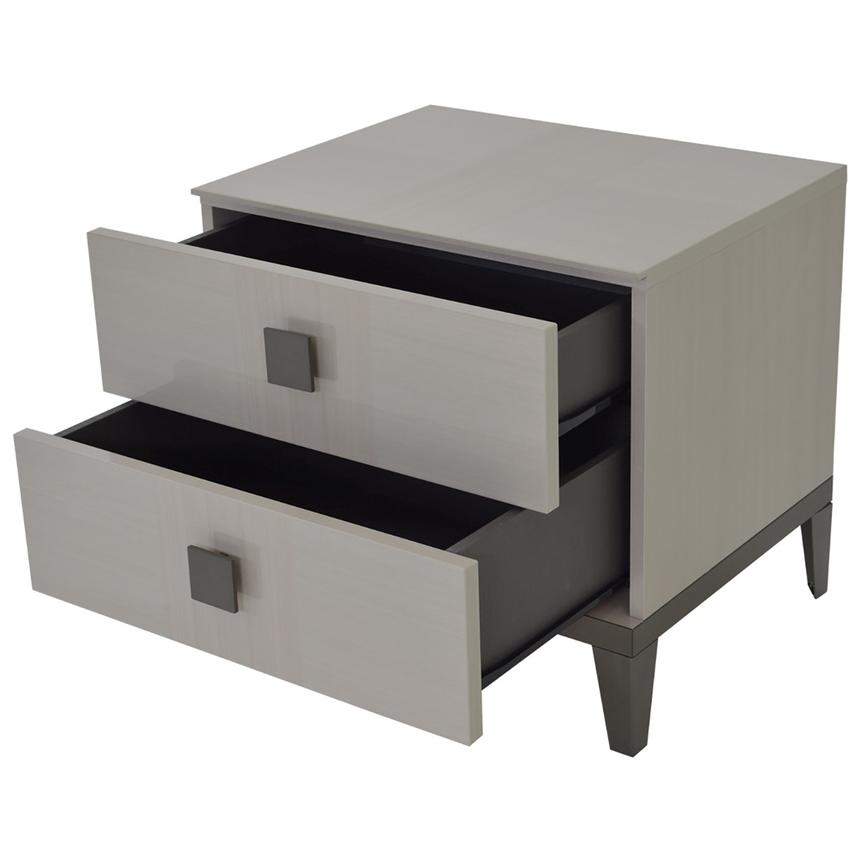 Mont Blanc Gray Nightstand Made in Italy  alternate image, 4 of 8 images.