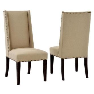Hudson Rustic Java Side Chair