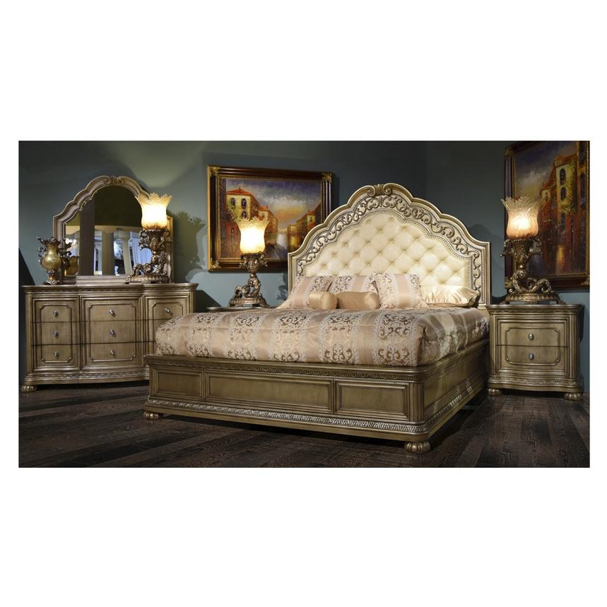 San Marcos Queen Platform Bed El Dorado Furniture