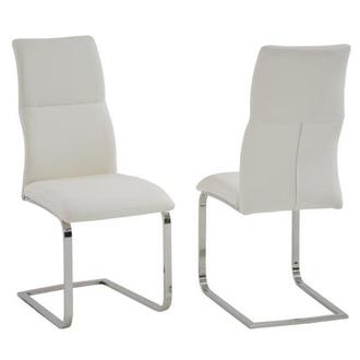 Colette White Side Chair